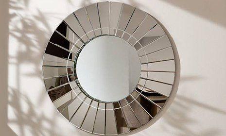 Originale specchio duplice. lo specchio estera tale fatto laminate a specchio