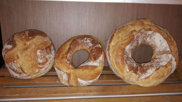 tre tipi di pane casereccio
