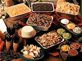 Best Mexican Catering, food that delivers, Ricardo's Place 92675