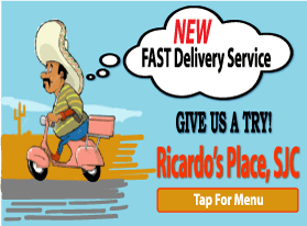 food places that deliver, Ricardo's Place 92675