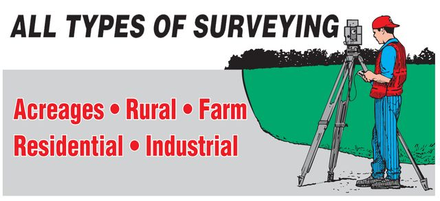 cartoon of surveying services