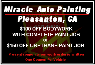 Miracle Body And Paint >> Auto Repair Miracle Auto Painting Body Repair Pleasanton Ca