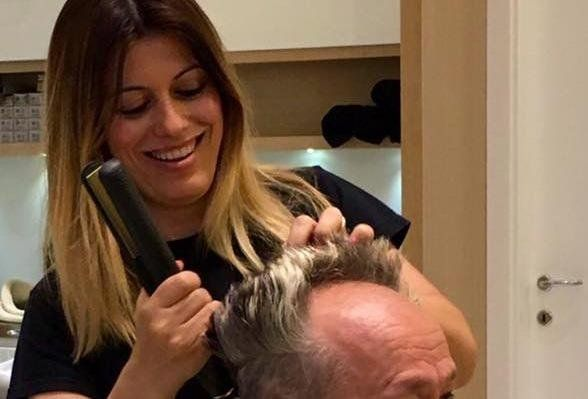 parrucchiera per tagli uomo