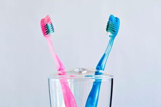 two toothbrushes