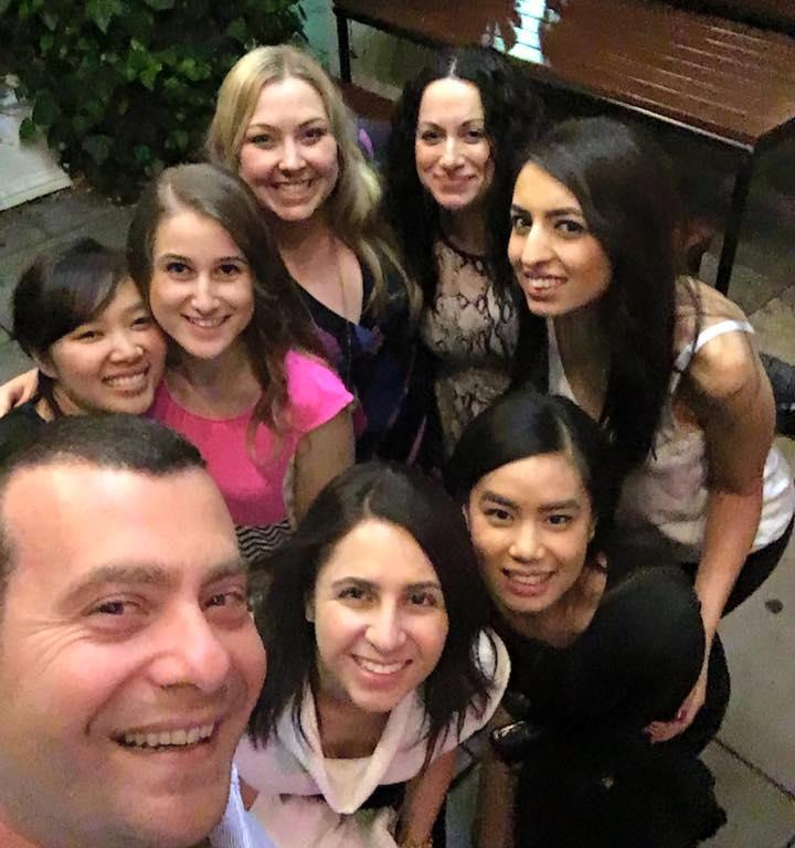 dentist staff group photo