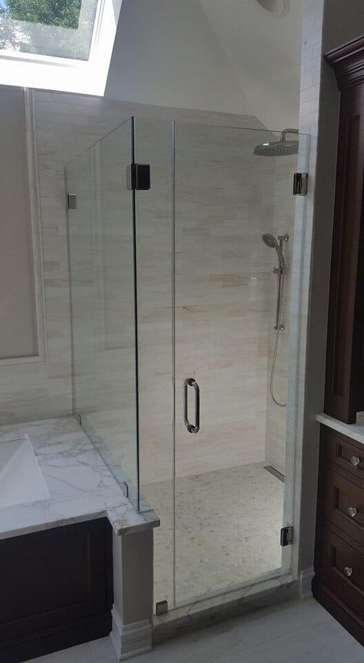 Custom Glass Shower Doors Geneva Il Geneva Glass Works