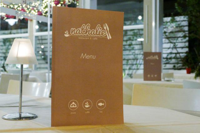 Menu di Nathalie Restaurant & Caffè a Bari