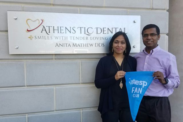 Athens TLC Dental are members of the Extra Special People Fan Club
