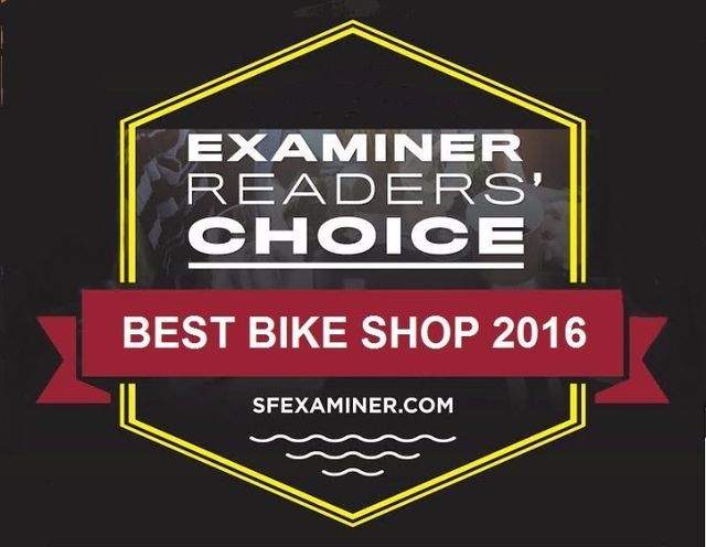 Examiner Readers' Choice - Best Bike Shop 2016