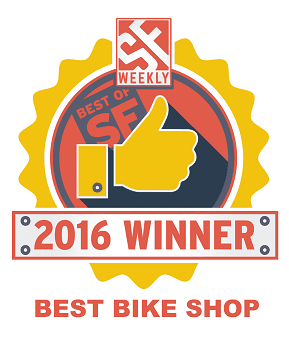 Best of San Francisco - 2016 Best Bike Shop