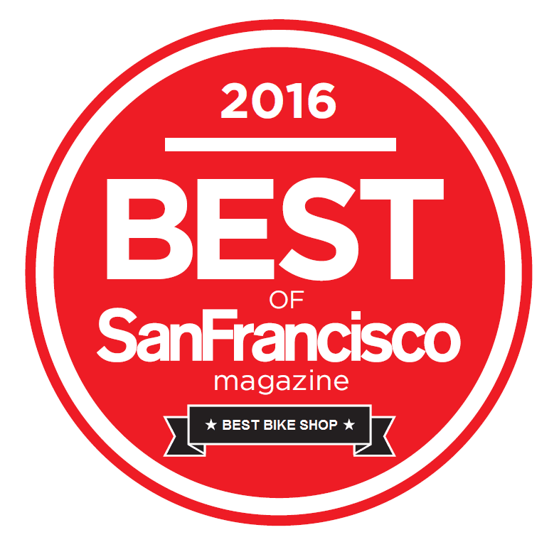 2016 Best of San Francisco Magazine logo