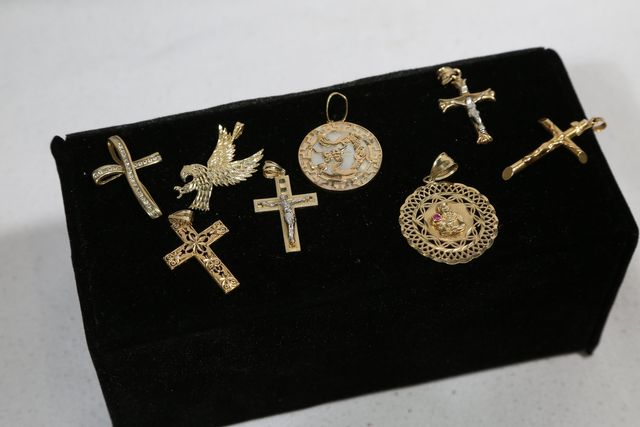 Used Jewelry For Sale Golden Cross Pendants In Rd Rochester Ny