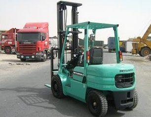 Forklift trucks servicing