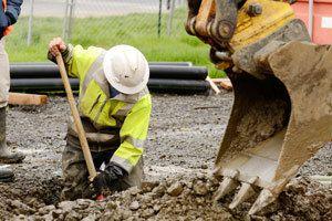 experienced excavation crew