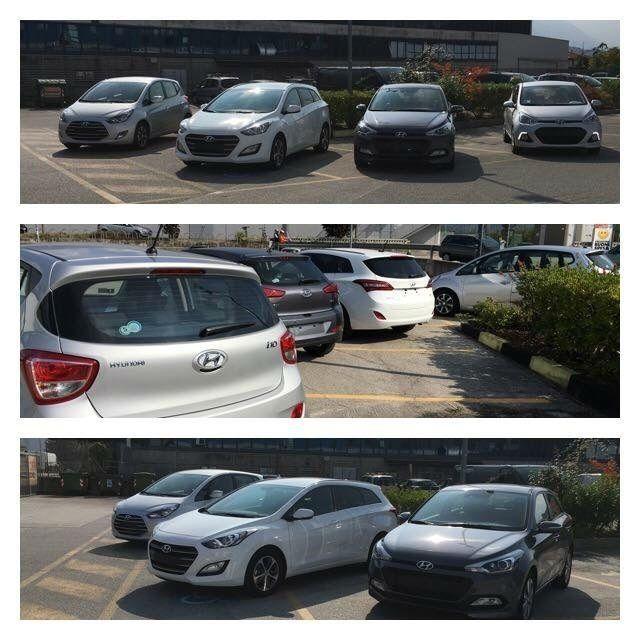 esposizione autosalone Hyundai