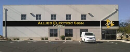 Signs Amp Awnings Salt Lake City Ut Allied Electric
