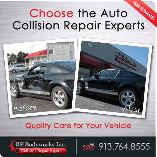 Auto Collision Repair Experts, Mustang Before And After Pics, BF Bodyworks Repair Experts