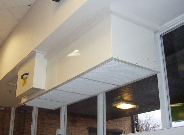 Over door ventilation