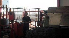 lavorazione di ferro tondo