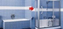 Vasca e cabina doccia