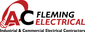 A C Fleming Electrical logo