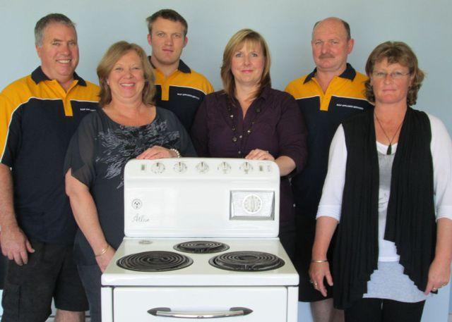 appliance service team in Tauranga