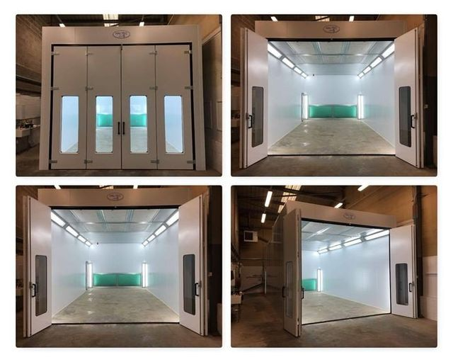 Spray Paint Booths Amp Smart Repair Solutions In The Uk
