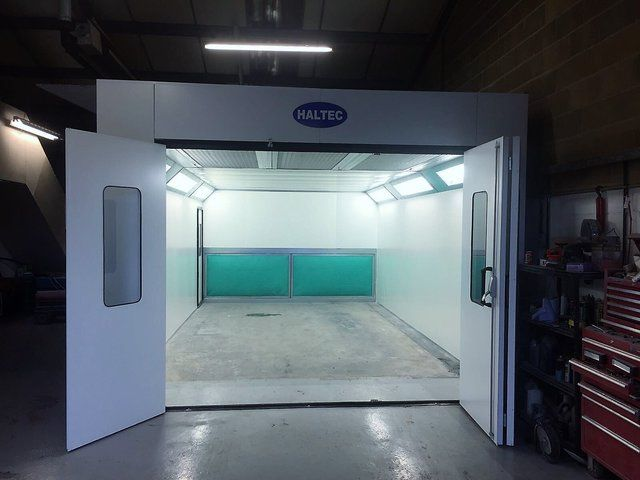 Automotive and Custom Paint Booth Design | Haltec Ltd