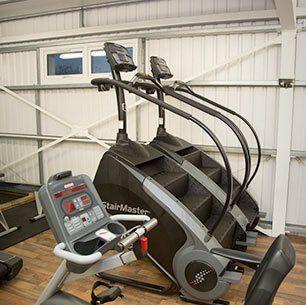 cardio exercise workout area