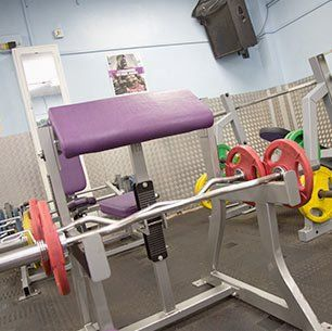 weight training facility
