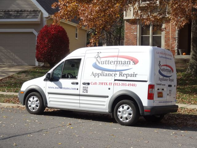 Nutterman Appliance repair truck.  Full of the parts to fix your appliance today!