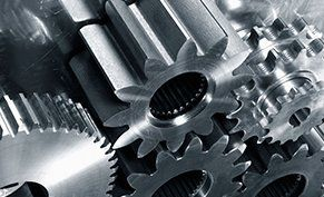 Close up of Gears