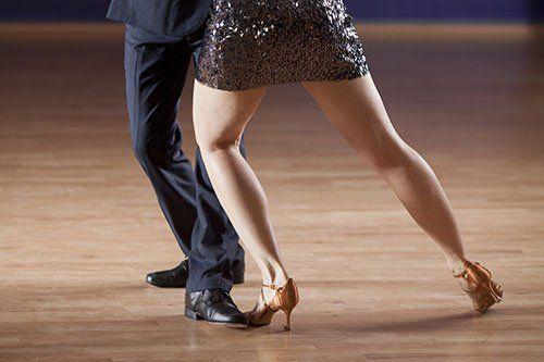 ballo da sala presso scuola di danza Olympia
