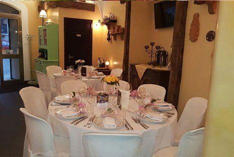 La locanda di Mimí a Caserta - tavolo della sala interna