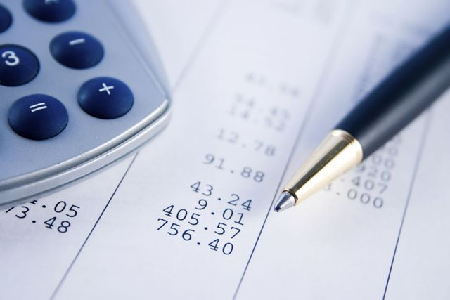 Example of finance and accounting paperwork in Hamilton, OH