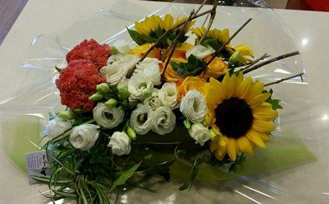 Fiori per funerale a Valdobbiadene