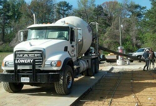 Concrete Services – Callao, VA – W C Lowery, Inc