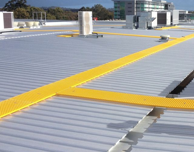 Roof Walkway Installations Gold Coast   Skyview Roofing