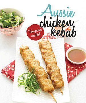 Aussie Chicken Kebab
