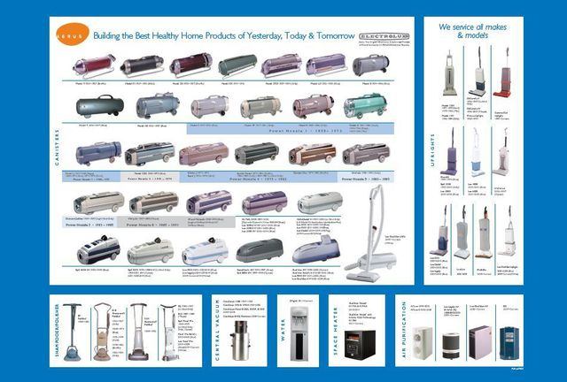 Electrolux Sales & Service Center | Vacuum Cleaning Systems