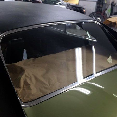 Vehicle body glass