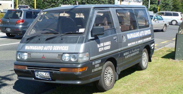 Waiwakaiho auto services van