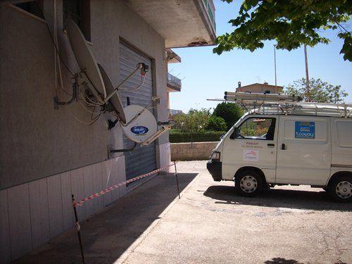 Impianti satellitari a Modica