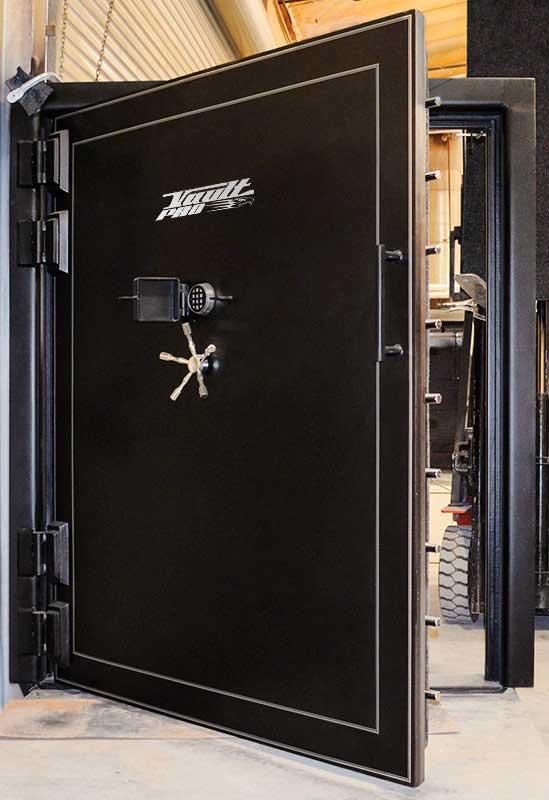 Monster vault door massive vault door with four hinges made in USA - Vault Doors & Safe Room Doors American Made For Sale In USA