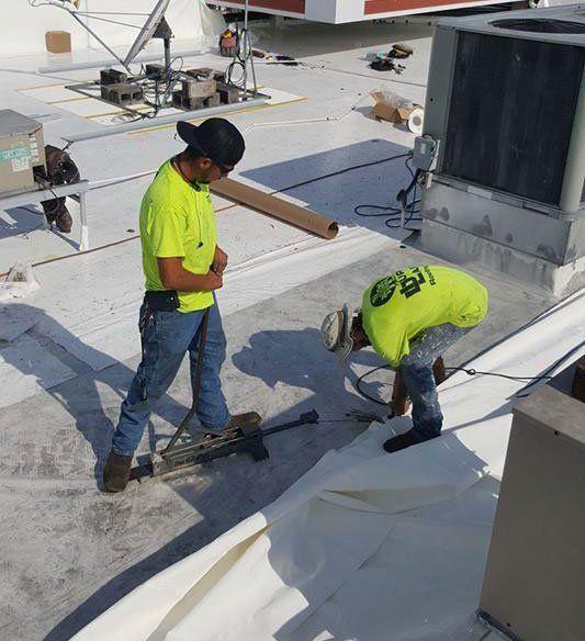 Central Florida Roofer Commercial Roof Restoration