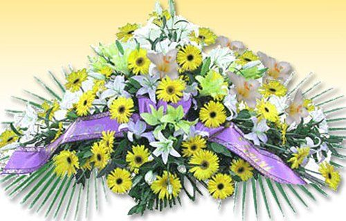 Addobbi floreali arredi funerari a Cave