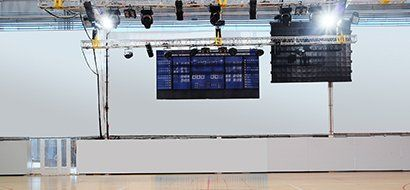 View of a digital signage