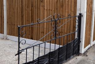 Bespoke garden fencing