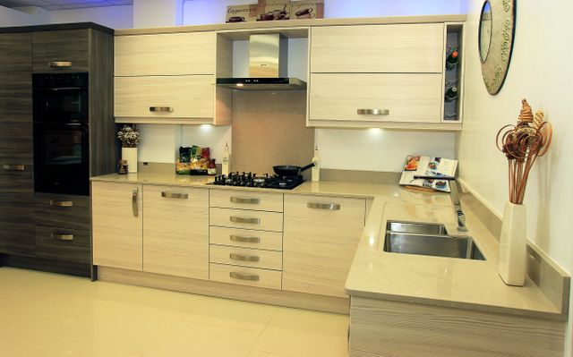 Modular kitchen by Andrew Collins