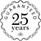 25 year Guaranteed logo